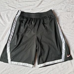Black and silver shorts